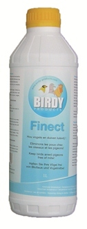 BIRDY FINECT 1LTR - KEEPS BIRDS AND PIGEONS FREE OF MITES